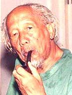 (1907 – May 23, 1990) Born in Cirebon, West Java as the son of R. Koesoema, who was a surveyor at a local sugar factory, Affandi finished his upper secondary school in Jakarta. He gave up his studies to pursue his desire to become an artist. Beginning in 1934, Affandi began teaching himself how to paint.
