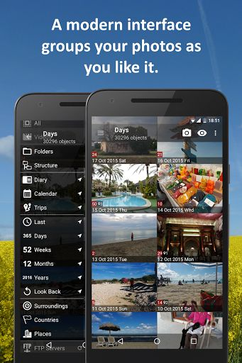 """PhotoMap Gallery - Photos Videos and Trips v7.5.1 [Ultimate]   PhotoMap Gallery - Photos Videos and Trips v7.5.1 [Ultimate]Requirements:4.0.3Overview:View your photos and trips in a fascinating way. PhotoMap helps you finding great places again. Relive your trips by jumping virtually from location to location. Keep your memories alive like never before.  """"This is useful for holiday sports and business photos."""" - Android Magazin 4/2015  With PhotoMap you can also view photos that reside on…"""