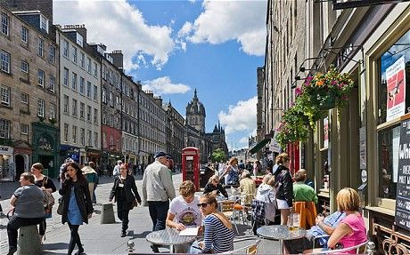Edinburgh attractions: what to see and do in summer - Telegraph