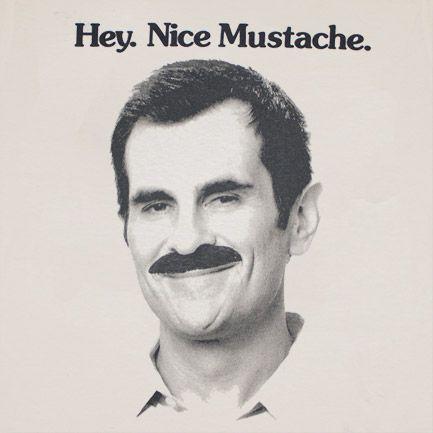 modern family / modern mustache
