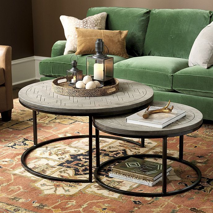 Two Small Tables Instead Of Coffee Table Coffee Tables Are Available In Various Sizes Shape Colo Coffeetables Homedecorideas Homedecor See More At Htt Di 2020