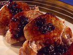 Pork Loin with Fig and Port Sauce