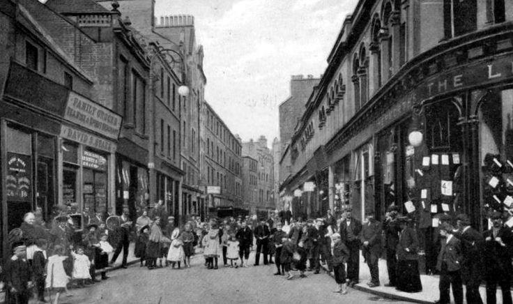 Old Photograph Leith Scotland