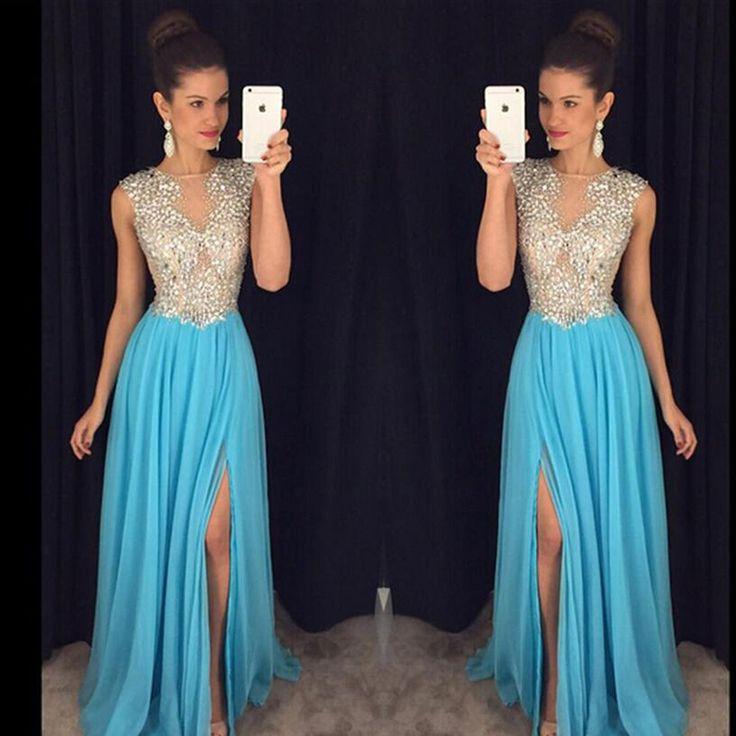 119 besten Long Elegant Prom Dresses Bilder auf Pinterest