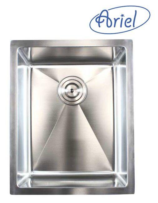 16 Inch Stainless Steel 15mm Radius Design Undermount