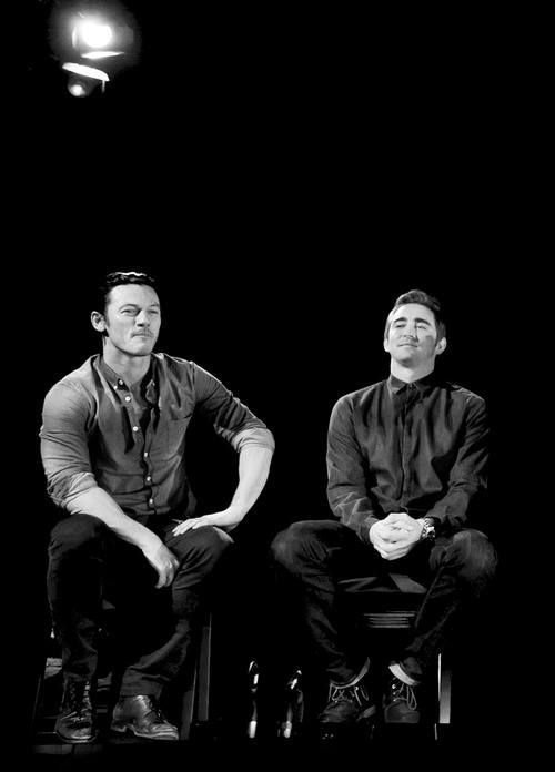 The Hobbit: the Desolation of Smaug - Lee Pace and Luke Evans