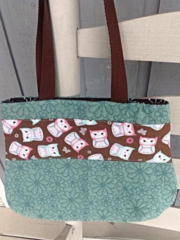 Owl Handbag, #OwlPurse, teal handbag, shoulder-strap purse by #OnceUponARoll #TeamZibbet for $32.00