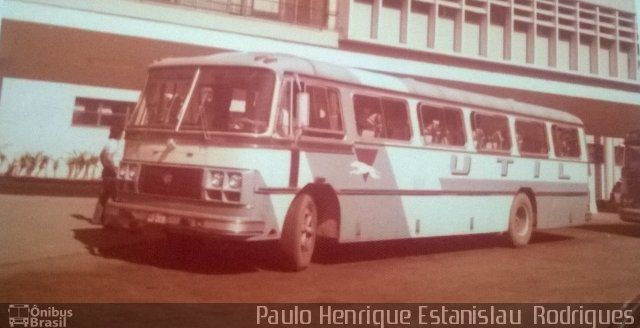 Ônibus da empresa UTIL - União Transporte Interestadual de Luxo, carro -, carroceria Marcopolo II, chassi Scania B76. Foto na cidade de Niterói-RJ por Paulo Henrique Estanislau  Rodri, publicada em 02/04/2015 16:52:01.