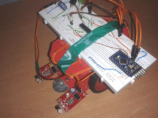 Line follower robot using arduino projects