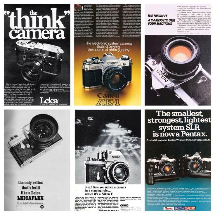 #VintageAds #Photo #Camera #Advertising #Photography