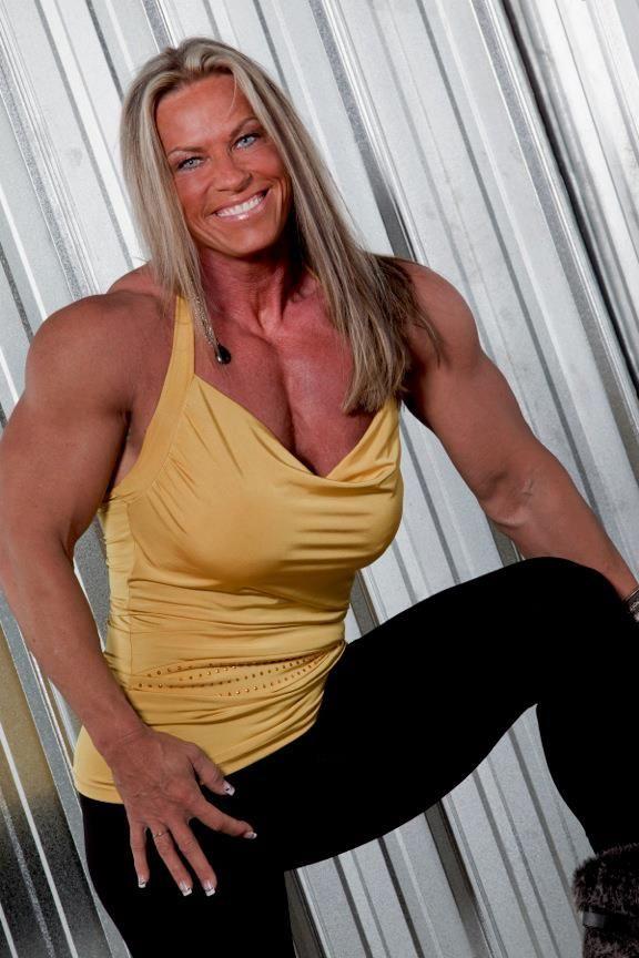 Brenda King  MUSCLE GODDESSES  Thank God For Steroids  Fit women Bodybuilding Women