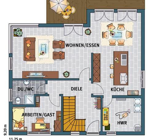 1000 ideer om musterhaus p pinterest hausbau ideen grundriss wohnung og hus. Black Bedroom Furniture Sets. Home Design Ideas