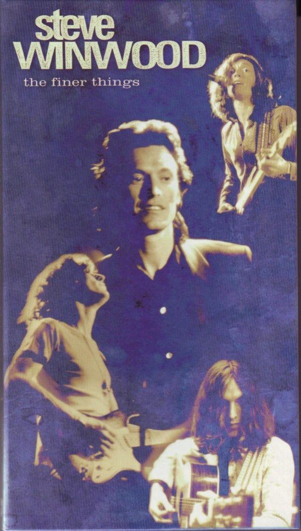 """Steve Winwood """"The Finer Things"""" 1995"""