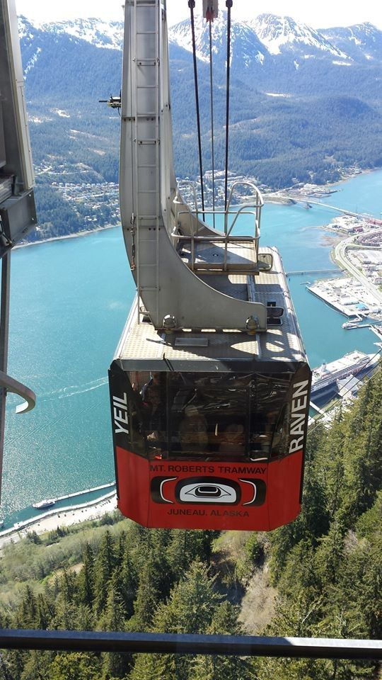 Mount Roberts Tramway Juneau , Alaska I did not go on this, but Bernie did.