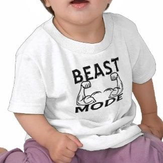 """Body Builder Baby Clothes...must get these, especially """"Beast Mode"""" for our little noob. Just like daddy."""