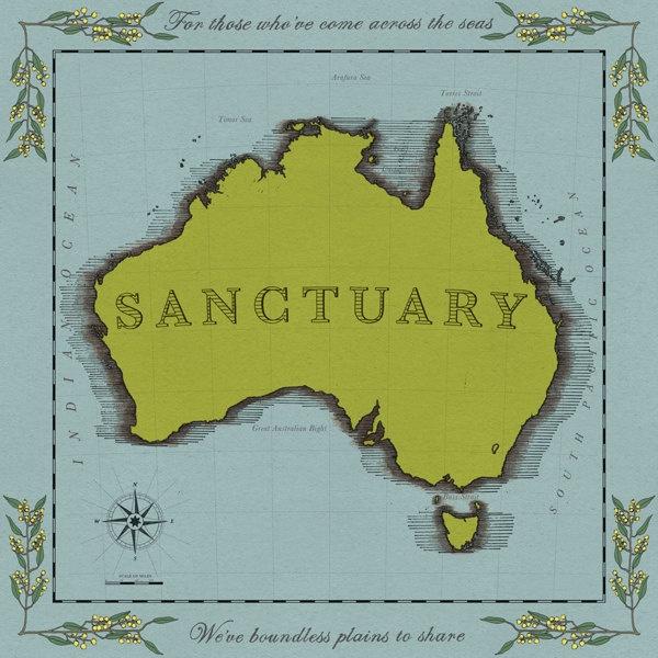 Sanctuary by Jess Parker, via Behance