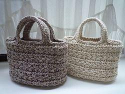 スタークロッシェで編む冬用バッグ l ニットカフェへようこそ