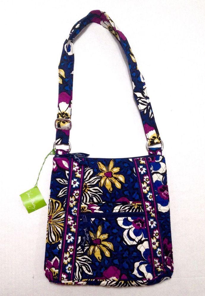 Vera Bradley African Violet Hipster Purse Crossbody Shoulder Bag Cheetah  NEW  VeraBradley  ShoulderBag b40ff95b9a1b0