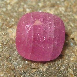 Ruby Merah Burgundy Kotak 2.49 carat