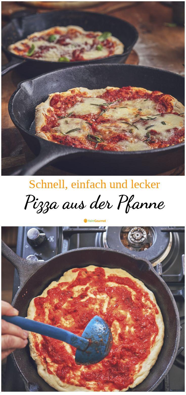 Gebratene Pizza, einfach, schnell und lecker – f h