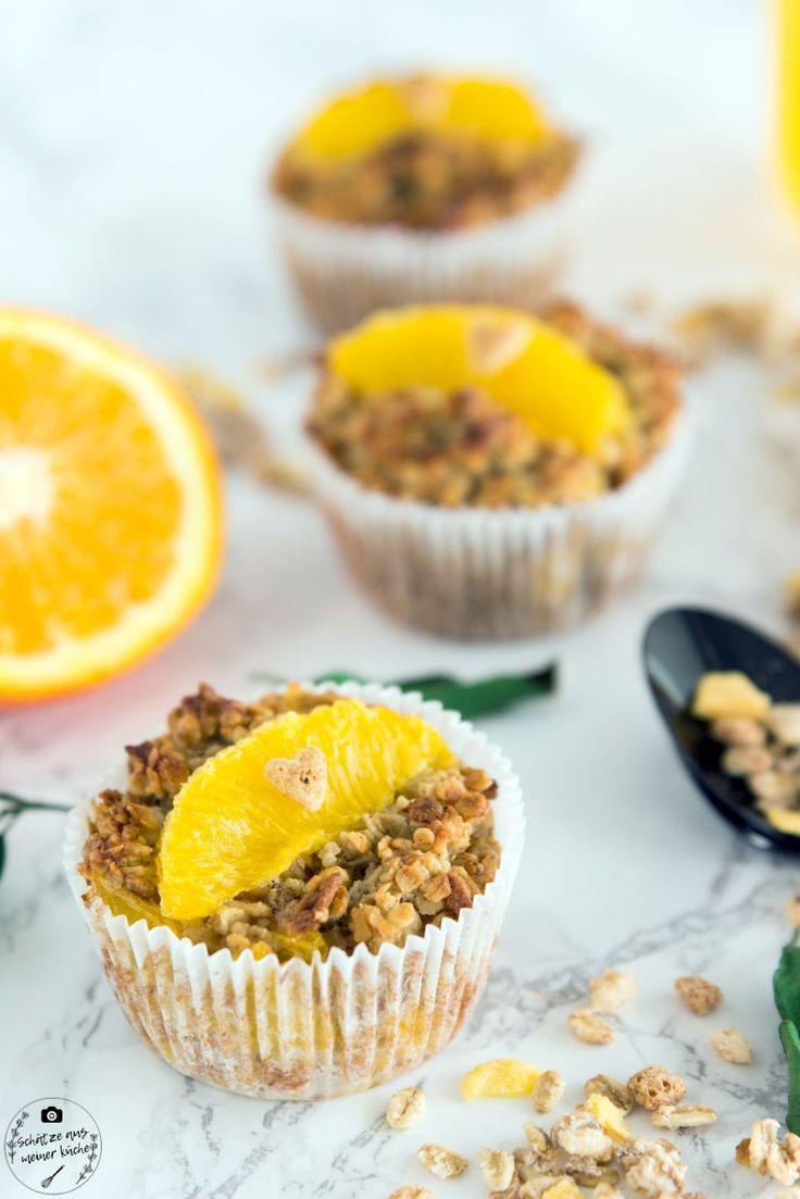 Schnelle Frühstücksmuffins mit Orange