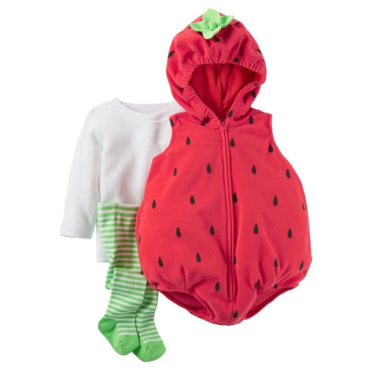 Baby Carter's 3-pc. Strawberry Costume, Infant Girl's, Size: 24 Months, Red