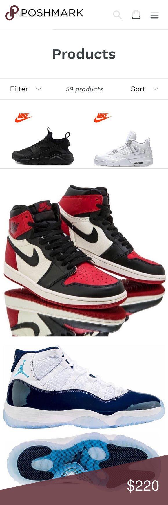 Yeezy, Jordans, Nike, converse