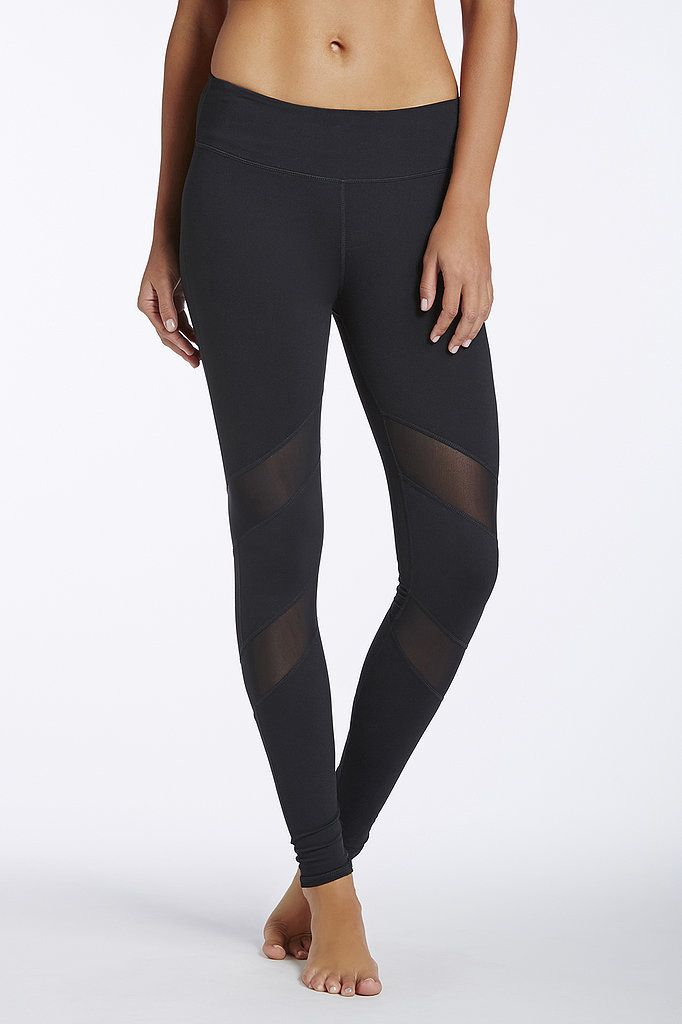 10 Cool-Girl Mesh Leggings to Show Off at the Gym: You sweat, jump, run, and Downward Dog in your workout capris, but technically designed gear doesn't have to be utilitarian boring.