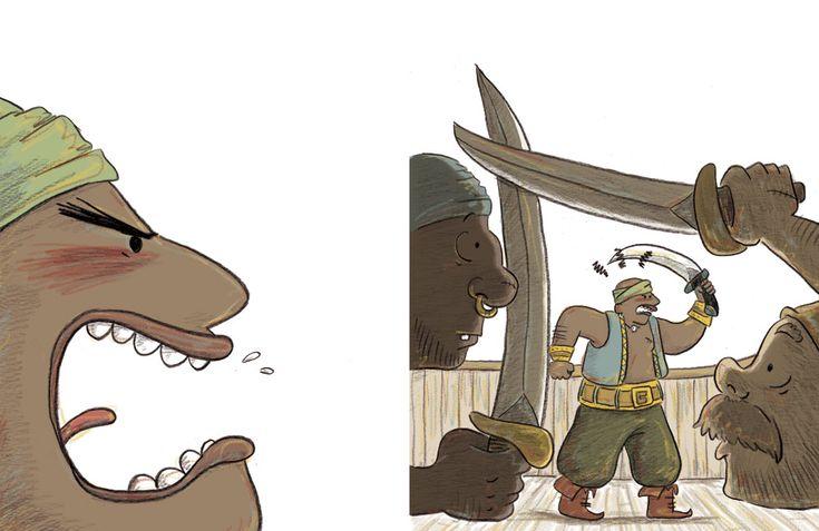 Sven le terrible - Illustrations Orbie