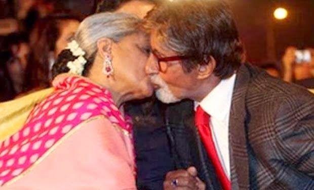 PDA by Jaya Bachchan n Amitabh Bachchan