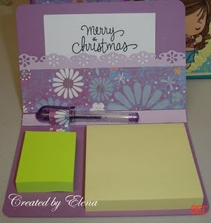 Another post it note holder