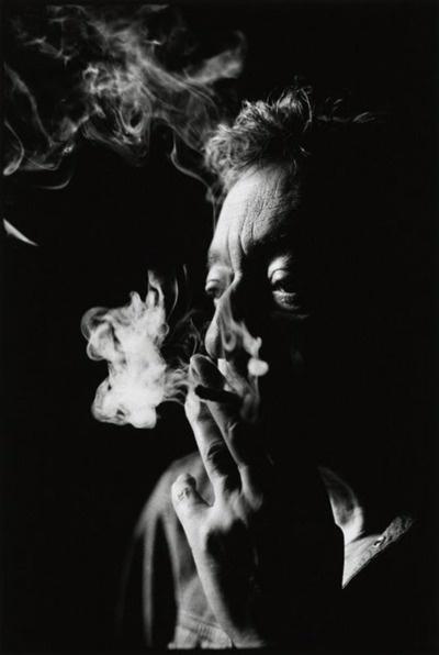 Serge Gainsbourg -- un día fotografiaré humo :D