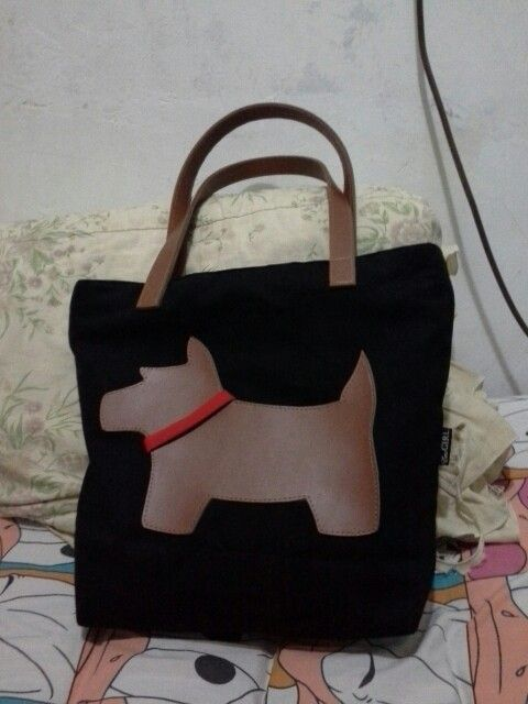 My Scotish Terrier Handmade Bag..