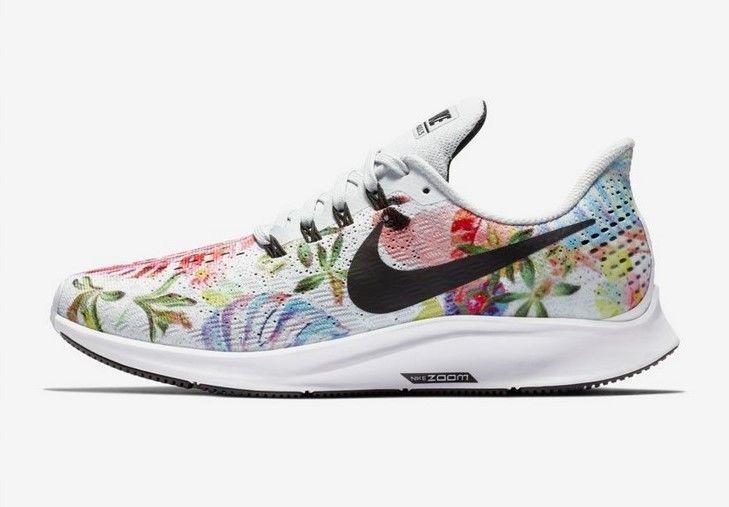 acheter populaire 56b81 7adc6 Nike Air Zoom Pegasus 35 Floral Platine pur/Blanc/Noir pas ...