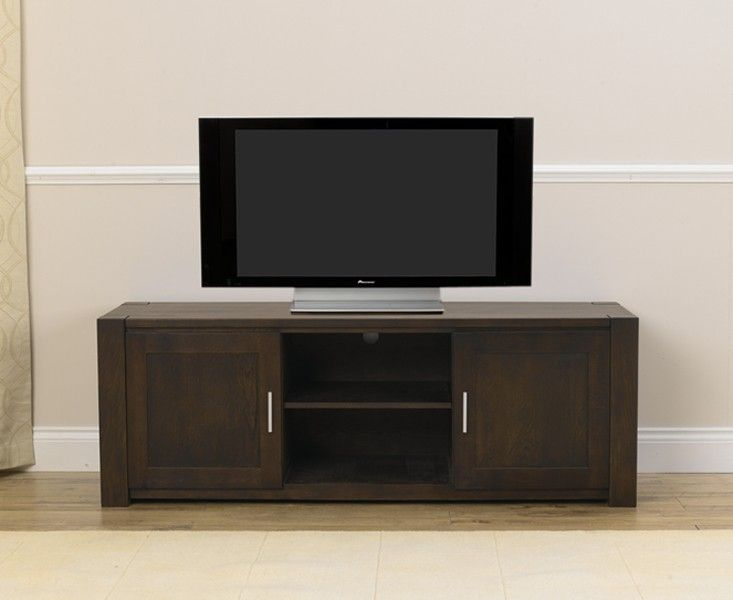 Shop the Verona Dark Oak TV Unit at Oak Furniture Superstore. Quick  delivery with APR available. Buy today!
