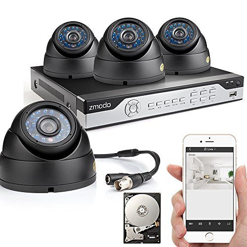 Zmodo 4CH 960H DVR 4x600TVL Home CCTV Video Day Night Surveillance Security Camera System w/ 500GB Hard Drive Easy Network Setup in Seconds 3G/4G WiFi Remote View - http://www.bestwirelesssecuritycamerasystem.com/zmodo-4ch-960h-dvr-4x600tvl-home-cctv-video-day-night-surveillance-security-camera-system-w-500gb-hard-drive-easy-network-setup-in-seconds-3g4g-wifi-remote-view/