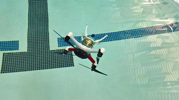 Loon Copter, il drone anfibio da aria e acqua