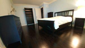 Ikea Hemnes Queen bedroom set. Mint condition.