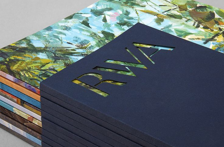 Brand identity and brochure with die cut detail for Royal West of England Academy by Spy, United Kingdom