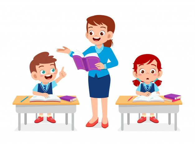 10+ Cute Kids Learning Clipart