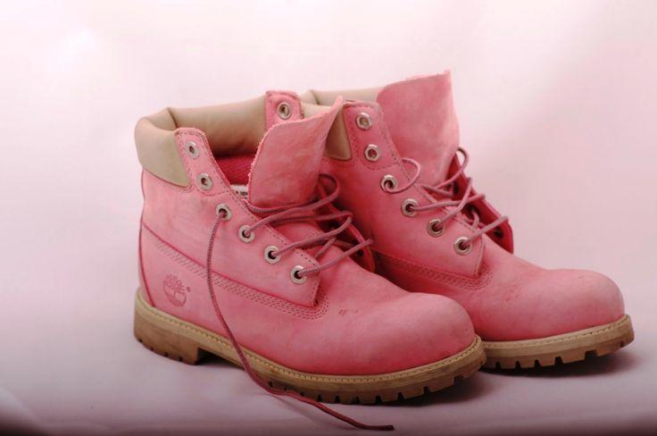 Ботинки женские timberland розовые 37
