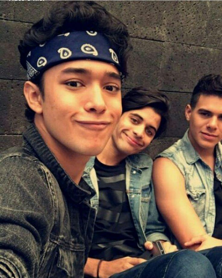 Joel, Zabdiel, y Erick Brian de CNCO