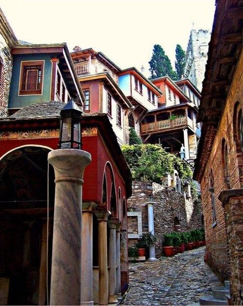 Ηoly monastery of Dohiario at Agio Oros