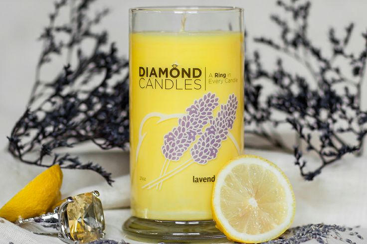 Diamond Candles (all natural soy candles). They have real rings worth 10, 100, 1,000, or 5,000 dollars in every single candle.
