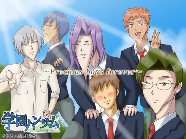 Anunciado el reparto principal del Anime Gakuen Handsome the Animation.