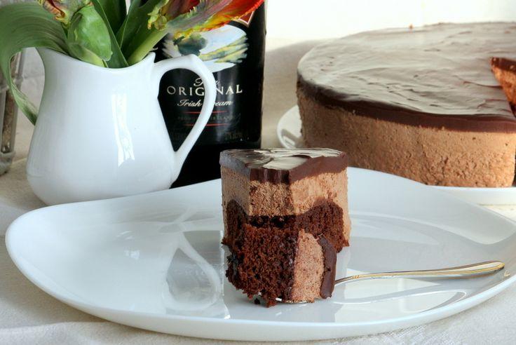 """Торт-суфле «Irish Cream"""" - шоколадное наслаждение - Ça Ira"""