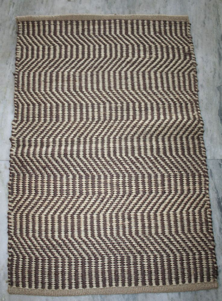 100% jute handmade indian outdoor mat welcome mat outside door mat bath mat rugs #Unbranded #HandWoven