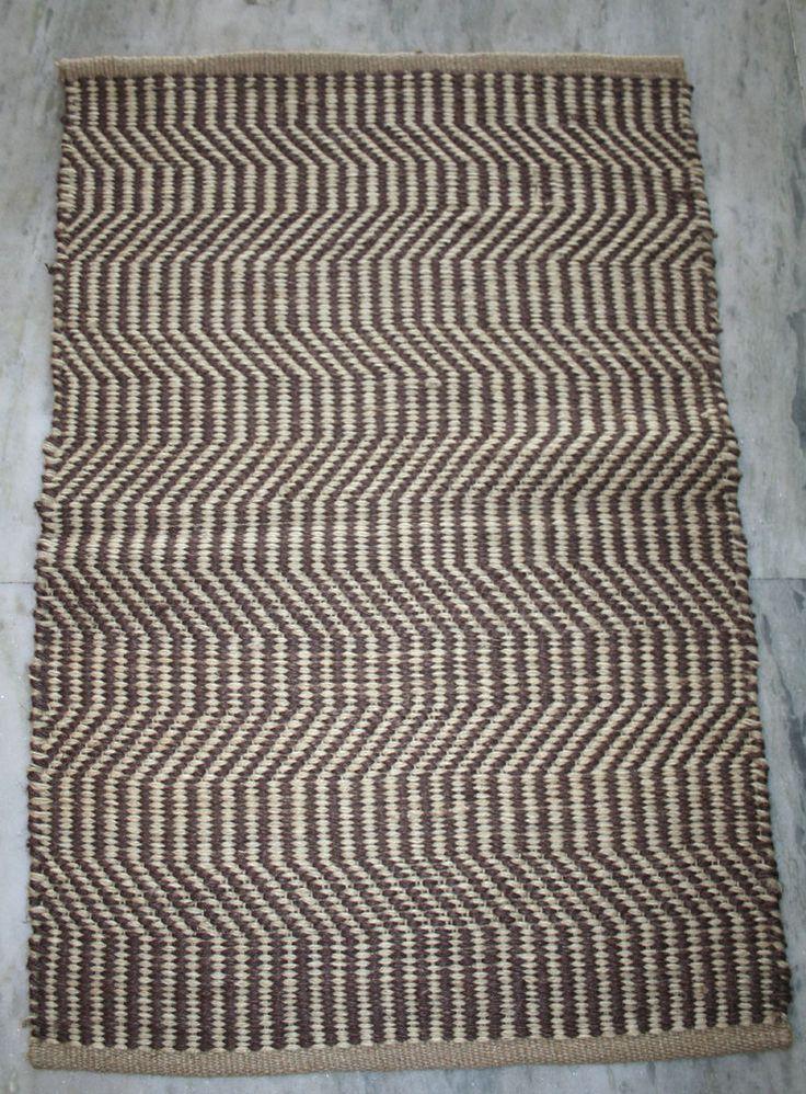 100% jute handmade indian outdoor mat welcome mat outside door mat bath mat rugs #Unbranded #HandWoven