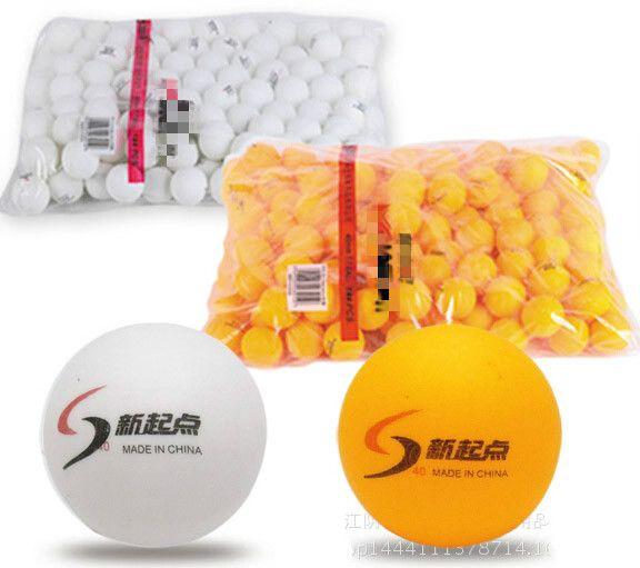 New 10Pcs/lot Tennis Ping Pong Balls 4cm Table Tennis Balls Training balls White and Yellow 2 colors can choose GYH