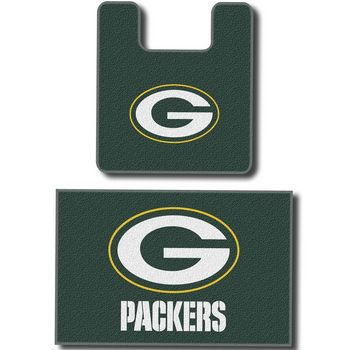 Green Bay Packers 2 Piece Bathroom Rug Set At The Packers Pro Shop Http: